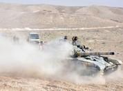 Quân đội Syria tiêu diệt hàng loạt chiến binh IS trên sa mạc Homs (video)