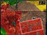 """""""Hổ Syria"""" thừa thắng tiến công mạnh về cứ địa IS"""