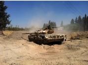 Quân đội Syria, Thổ Nhĩ Kỳ tiến đánh IS ở al-Bab Aleppo