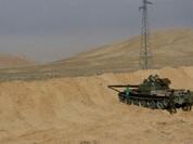 Quân đội Syria đánh chiếm thêm 1 làng trên vùng sa mạc Palmyra - VIDEO