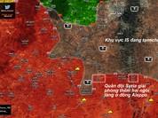 """""""Hổ Syria"""" đánh chiếm 23 làng, diệt 150 phiến quân IS ở Aleppo (video)"""
