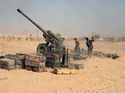Quân đội Syria tổ chức tấn công trên vùng sa mạc phía đông Palmyra (video)