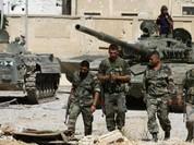 Video chiến sự Syria: Chiến binh đầu hàng lũ lượt rời ngoại vi Damascus (video)