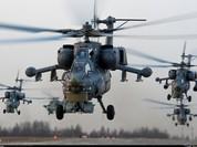 Trực thăng Nga nã rocket diệt phiến quân IS ở Palmyra