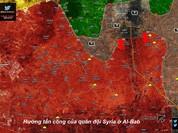 """""""Hổ Syria"""" đánh chiếm thêm địa bàn IS, khép chặt vòng vây Al-Bab"""
