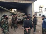Vệ binh Syria bất ngờ tập kích, diệt hàng chục phiến quân ở ngoại vi Damascus (video)