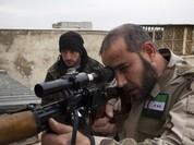 Không quân Syria dội bom trả đũa các vụ phiến quân bắn tỉa (video)