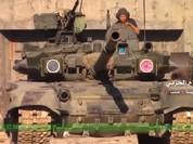 Xe tăng T-90K Nga khai hỏa diệt phiến quân Syria ở Aleppo (video)