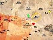 Chiến trường Palmyra: Hàng loạt tay súng IS chết trận (video)