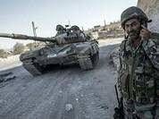 Quân đội Syria đánh thẳng vào cửa ngõ hang ổ IS ở đông Aleppo