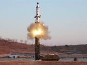 Toàn cảnh vụ phóng tên lửa đạn đạo của Triều Tiên (video)