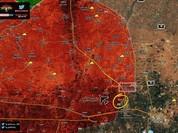 """""""Hổ Syria"""" đánh chiếm cứ điểm chiến lược IS gần sân bay quân sự Kuweires"""