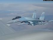 """""""Sát thủ"""" Su-35S Nga - Ác mộng với không quân NATO (video)"""