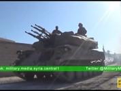 Quân đội Syria tiếp tục tấn công diệt phe thánh chiến ở ngoại ô Damascus