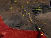 Chiến sự Palmyra: Quân đội Syria hình thành thế bao vây thành cổ (video)