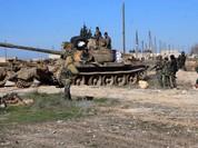 Quân đội Syria truy diệt phiến quân thánh chiến ở tây nam Aleppo