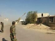 Quân đội Syria ồ ạt dội hỏa lực vào phiến quân quận ngoại ô Damascus