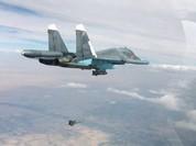 Không quân Nga -Syria vùi dập chiến tuyến IS ở đông Aleppo