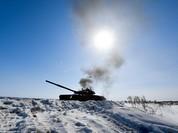 """Xem tăng Nga khai hỏa """"diệt địch"""""""