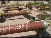 Quân đội Syria chiếm giữ lượng lớn vũ khí phiến quân ở Damascus