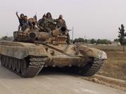 """""""Hổ Syria"""" tấn công, bao vây căn cứ địa IS ở đông Aleppo"""