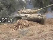 Quân đội Syria tấn công ác liệt phiến quân ngoại vi Damascus (Video)