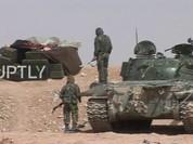 """Trận chiến Palmya: Hỏa lực Syria """"vít cổ"""" IS trên dãy núi chiến lược (video)"""