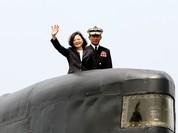 Đài Loan quyết tự đóng tàu ngầm đối phó Trung Quốc