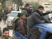"""Trận chiến Hama: Pháo phản lực nhiệt áp Nga ra tuyến lửa, """"Hổ Syria"""" chiếm thị trấn"""