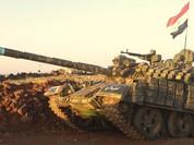 """Tên lửa TOW Mỹ """"bó tay"""" trước xe tăng Nga, phiến quân Syria chết ngả rạ tại Hama (video)"""