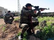 Lọt ổ phục kích, đoàn xe phiến quân IS bị hủy diệt