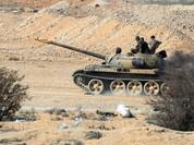 Quân đội Syria tập kích hỏa lực dữ dội phe thánh chiến tại Hama (video)