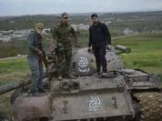 Chiến sự Syria: Quân chính phủ chiếm được vô số vũ khí phiến quân (video)