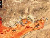 Quân đội Syria đánh bạt IS, chiếm dãy núi chiến lược ở Palmyra (video)