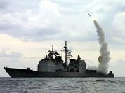 Hải quân Mỹ phóng tên lửa hành trình Tomahawk tấn công quân đội Syria