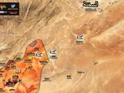Trực thăng Nga càn quét IS, quân đội Syria đoạt cao điểm tại Palmyra (video)