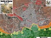 Quân đội Syria núng thế trước phe thánh chiến, thành Daraa nguy cơ sụp đổ