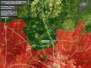 Quân đội Syria thất trận, mất xe tăng T-90 tại Hama