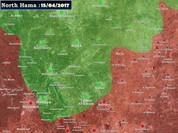 Phiến quân phóng tên lửa hạ xe tăng Syria, quân Assad nã pháo phản lực trả đũa