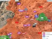 Quân đội Syria tấn công lớn đánh phe thánh chiến cố thủ ngoại ô Damascus