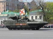 Lộ nội thất siêu tăng Armata Nga