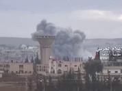 Không quân Nga vùi dập phiến quân Syria trên chiến trường Daraa (video)