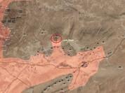 Quân đội Syria đánh bật IS, chiếm mỏ đốt chiến lược ở Palmyra (video)