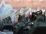 Xe tăng, tên lửa Nga tập dượt duyệt binh mừng Ngày chiến thắng