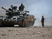 Quân đội Syria đập tan phiến quân IS, chiếm dãy núi chiến lược bắc Palmyra (video)
