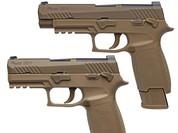 Lính Mỹ được trang bị súng ngắn mới (video)