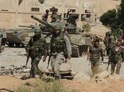 Quân đội Syria đánh dẹp phiến quân dọc tuyến cao tốc Damascus-Baghdad
