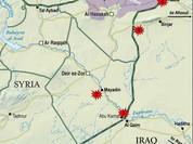 Quân đội Syria tấn công phiến quân ở biên giới Iraq (video)