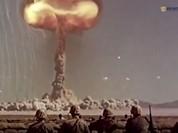 Video: Kinh hoàng Mỹ thử bom hạt nhân với binh sĩ