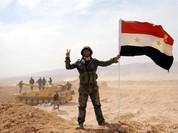 Quân đội Syria trút bão lửa huỷ diệt IS trên chiến trường Palmyra (video)